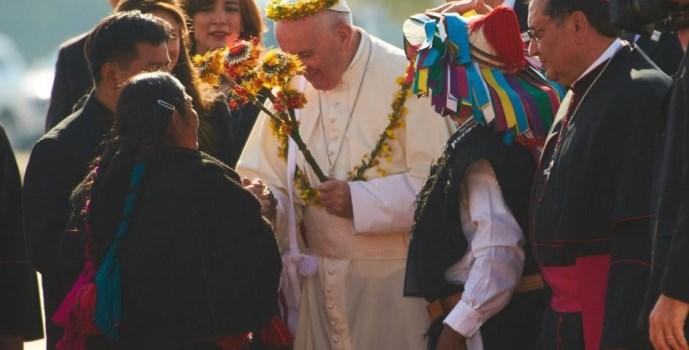 Francisco tendrá encuentros con indígenas de Perú Brasil y Bolivia-