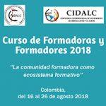Colombia: Curso de Formadoras y Formadores 2018 CODALC – CIDALC