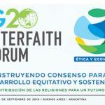 Argentina: Foro Interreligioso G20