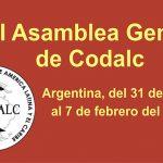 Argentina: XVI Asamblea General de Codalc 2019