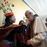 """Francisco en la FAO: """"Los pueblos indígenas son un grito viviente a favor de la esperanza"""""""