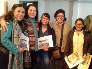 Algunas participantes del encuentro