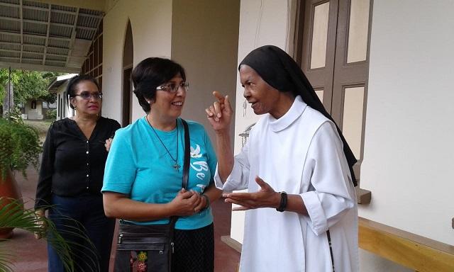 Sor Ana y hermana Noemí