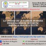 «La unidad de la familia desde la Rerum Novarum hasta la Fratelli Tutti»